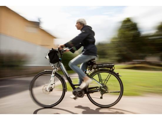 E-fietsers zijn fitter en houden vol