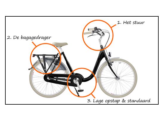 Moederfiets of gewone fiets?