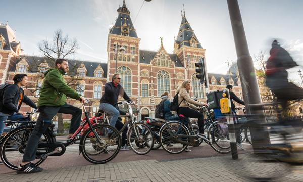 Positief imago 'Nederland fietsland' bij buitenlandse toeristen