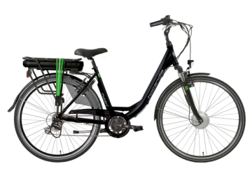 HOLLANDIA MOBILIT-E DER6 E-BIKE BLACK GREEN
