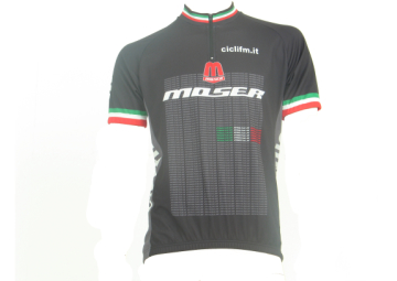 Moser wielershirt kort