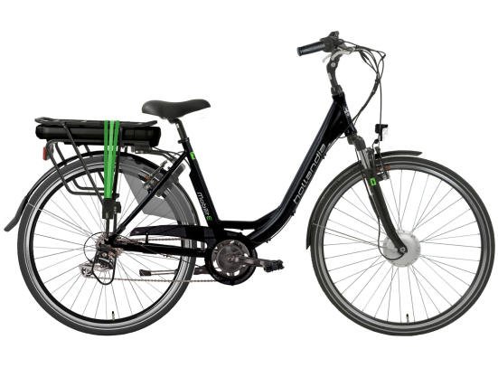 HOLLANDIA MOBILIT-E DER6 E-BIKE BLACK GREEN