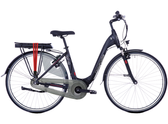 HOLLANDIA MIMO N7 E-BIKE MIDMOTOR BLACK