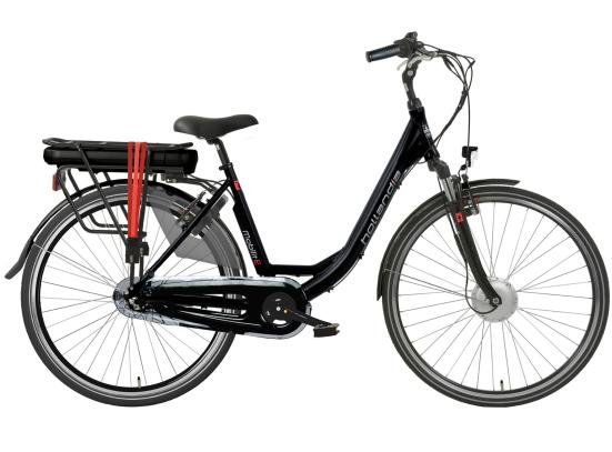 HOLLANDIA MOBILIT-E N3 E-BIKE BLACK RED