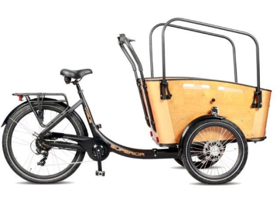 Vogue bakfiets Superior 3 Model 2020