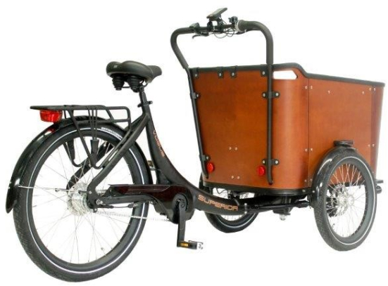 Vogue bakfiets Superior Deluxe Model 2020