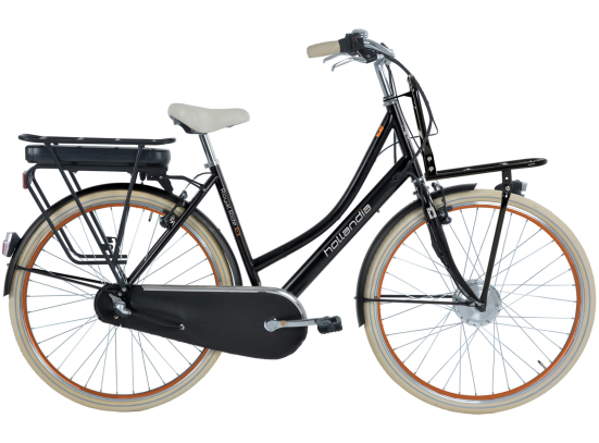 HOLLANDIA ROYAL RIDE E3 E-BIKE D53 BLACK
