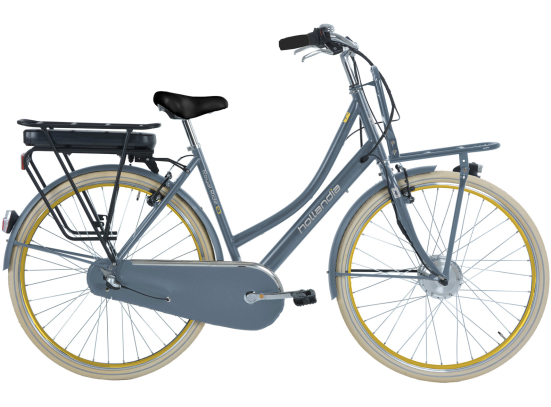 HOLLANDIA ROYAL RIDE E3 E-BIKE D53 STEEL BLUE