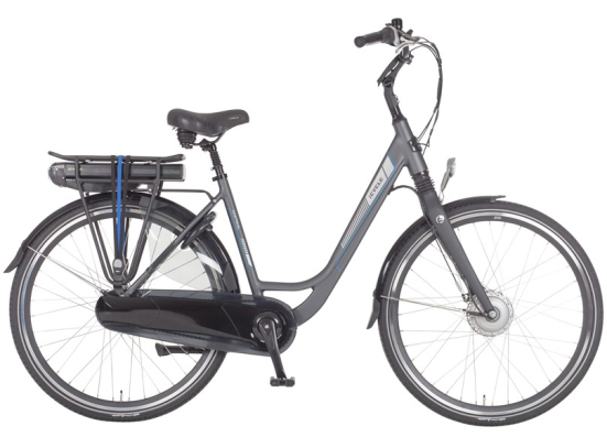 Icycle Mistral Dames Staal Grijs